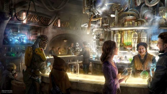 Star Wars Galaxy's Edge Oga's Cantina