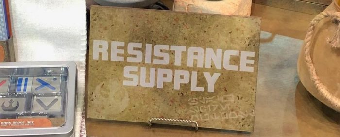 Star Wars Galaxy's Edge Merchandise - Resistance Supply