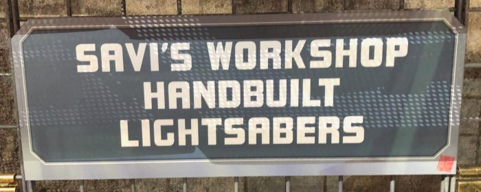 Star Wars Galaxy's Edge Merchandise - Savi's Workshop