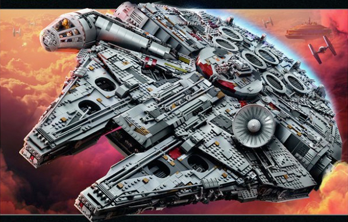 Cool Stuff: The Star Wars LEGO UCS Millennium Falcon is ...