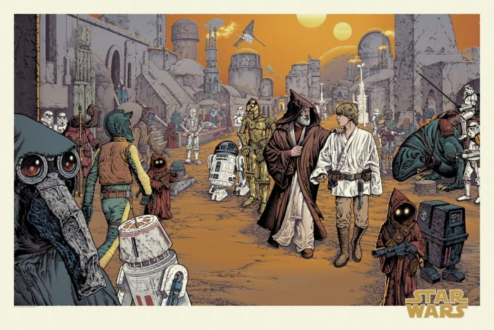 Mondo - Star Wars Day 2021 Poster by Mike Sutfin