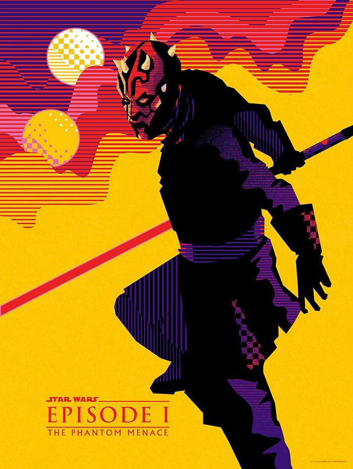 Star Wars: The Phantom Menace Mondo Poster