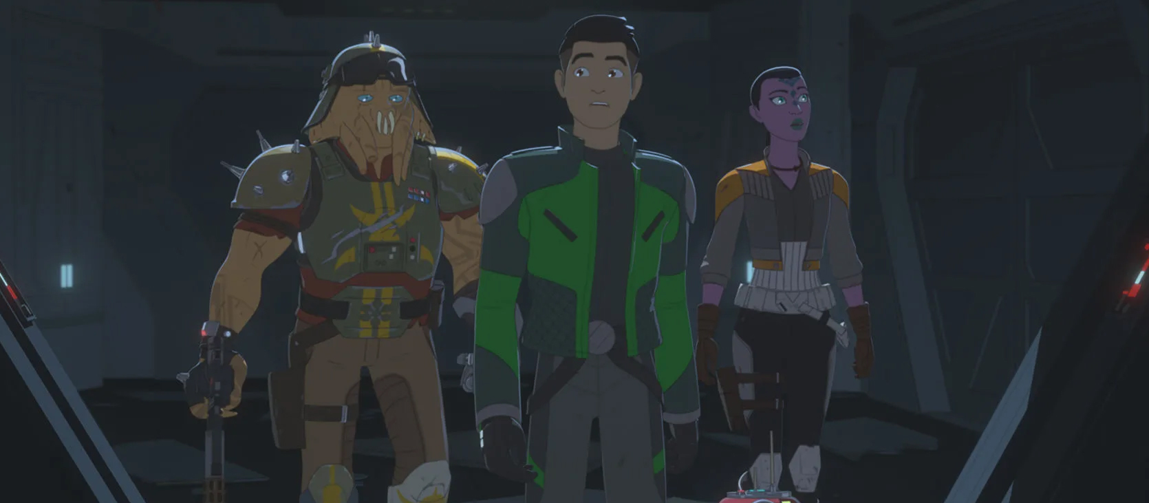 """'Star Wars Resistance' Gets Tangled in a Web of Dilemmas in """"A Quick Salvage Run"""""""