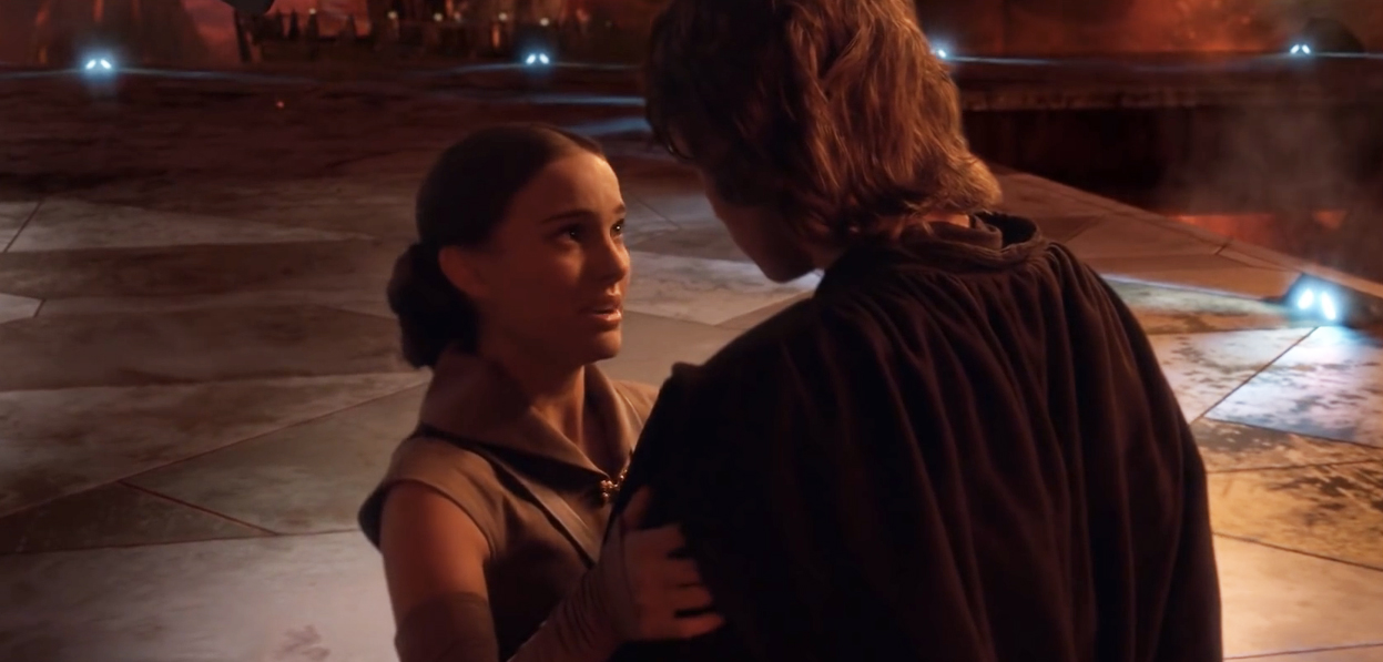 padme and anakin age difference in a relationship