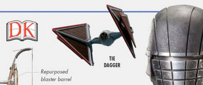 Star Wars The Rise of Skywalker Visual Dictionary - TIE Dagger