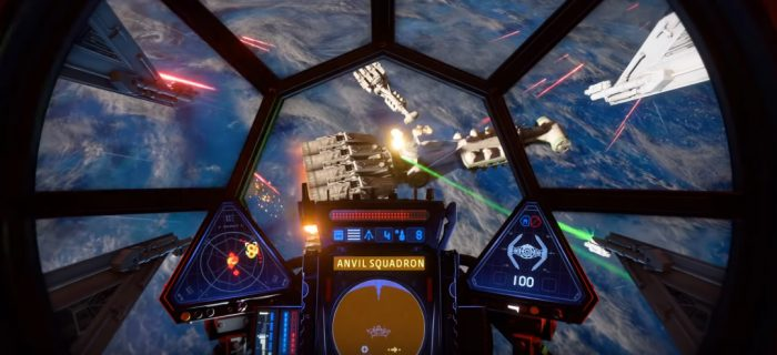 Star Wars Squadrons Gameplay Footage