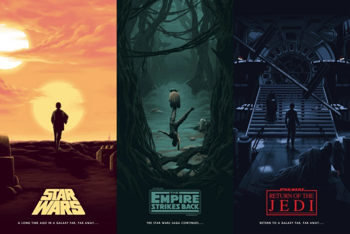 Florey Star Wars Trilogy Prints
