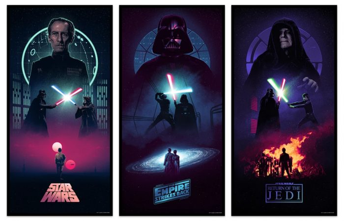 Star Wars Day 2021 Posters - Star Wars Trilogy - Marko Manev