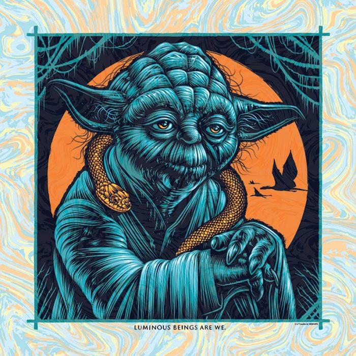 Star Wars Yoda Print - Todd Slater