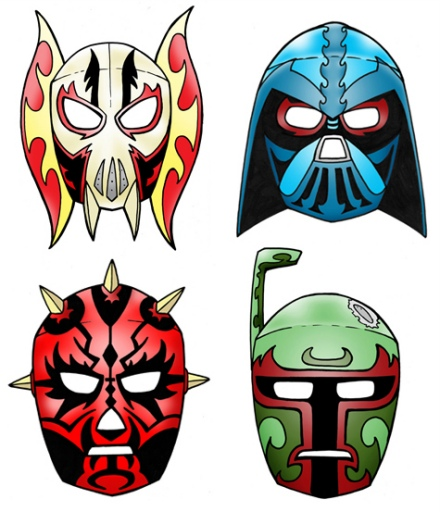 star wars lucha libre