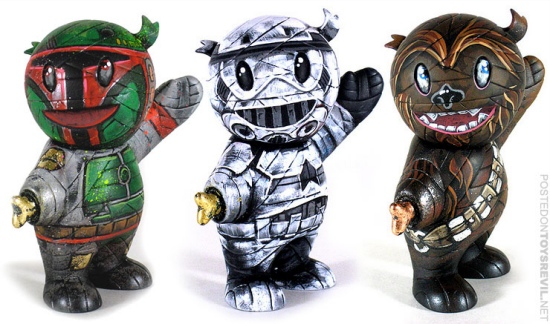 star wars mummyboy customs