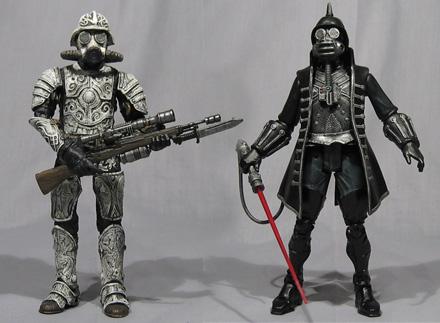 Steampunk Star Wars Action Figures