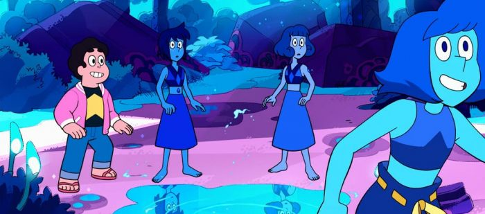Steven Universe Review - Why So Blue