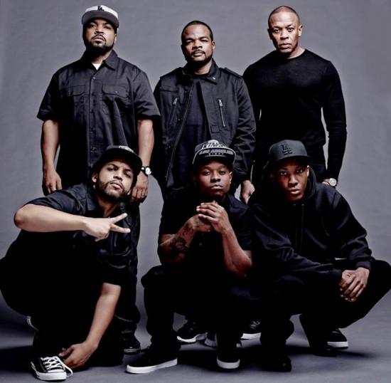 Straight Outta Compton Cast Photo