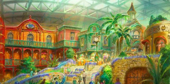 studio ghibli theme park opening date