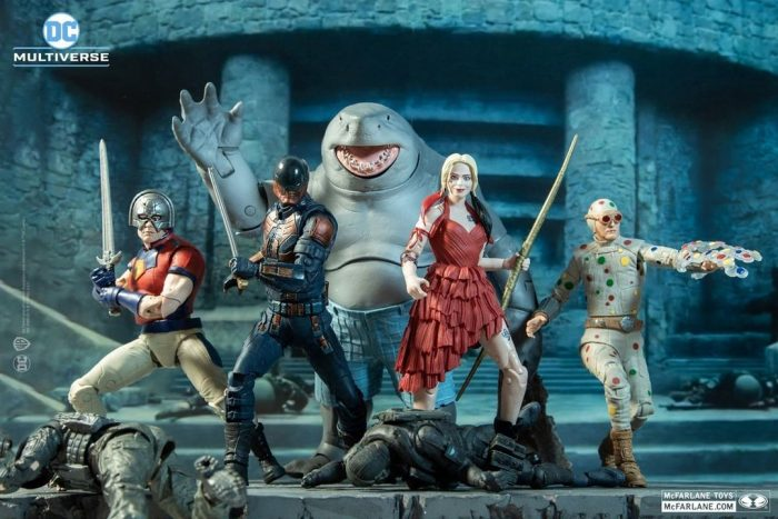 The Suicide Squad Action Figures
