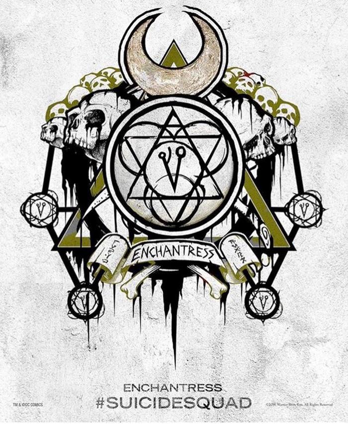 suicidesquad-enchantress-tattooposter
