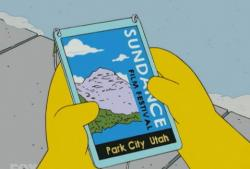 Sundance Simpsons