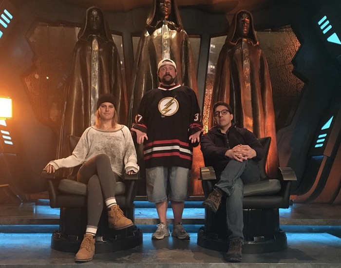 Kevin Smith - Supergirl - Daxamite Throne Room
