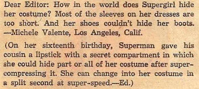 Supergirl Suit Hidden in Lipstick