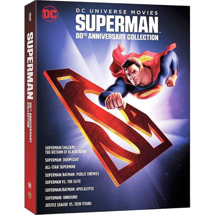 Superman 80th Anniversary Animated Box Set