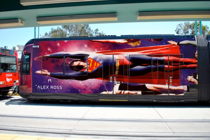 Superman - Alex Ross - SDCC Trolley