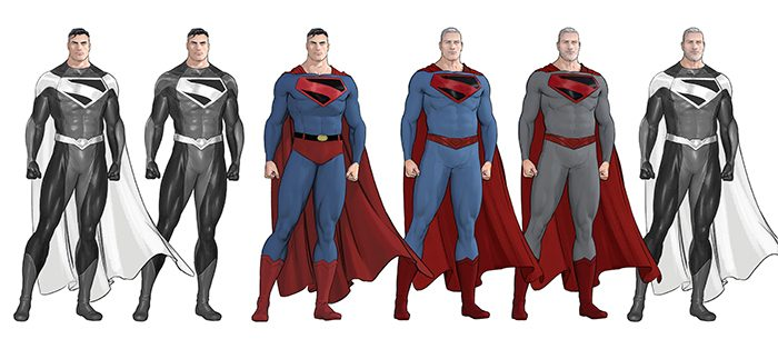 Superman and the Authority Concept Art