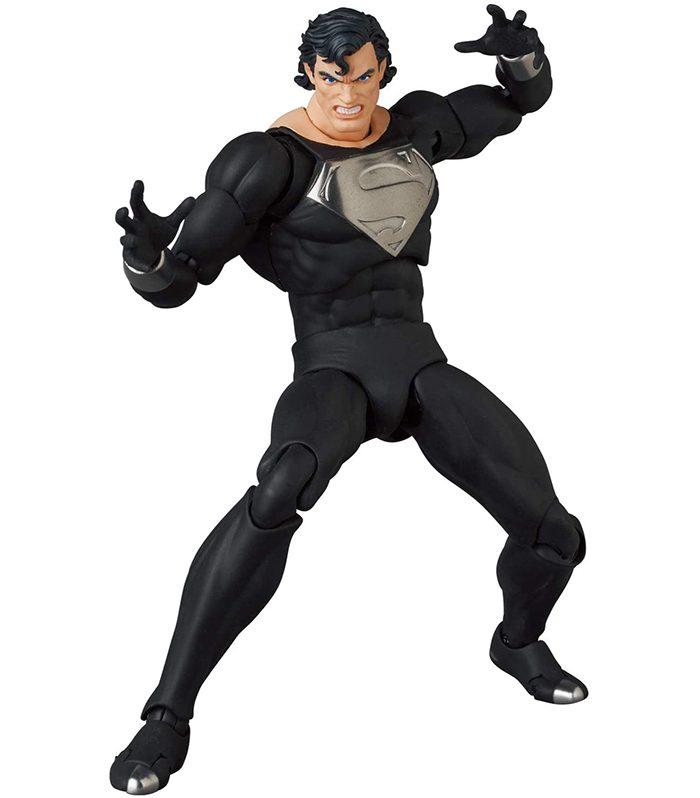 Black Suit Superman MAFEX Figure