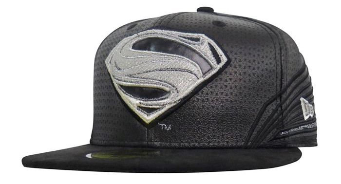 Superman Black Suit - 59Fifty Fitted Hat