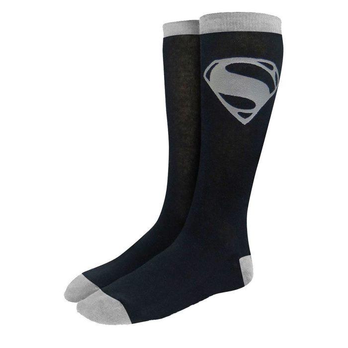 Superman Black Suit Socks