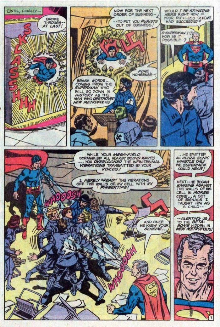 Superman Comics - White Nationalism in 2020