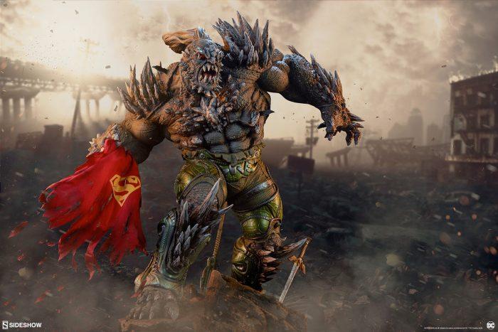 Superman Doomsday Maquette