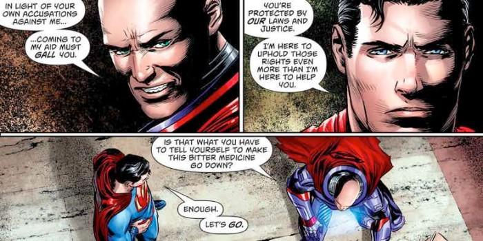 Superman Teams Up wit Lex Luthor