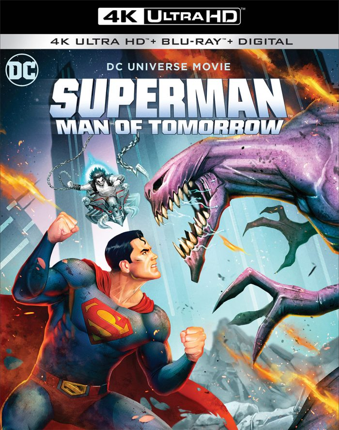 Superman: Man of Tomorrow 4K Cover