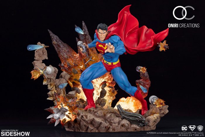 Superman: No Tomorrow Statue
