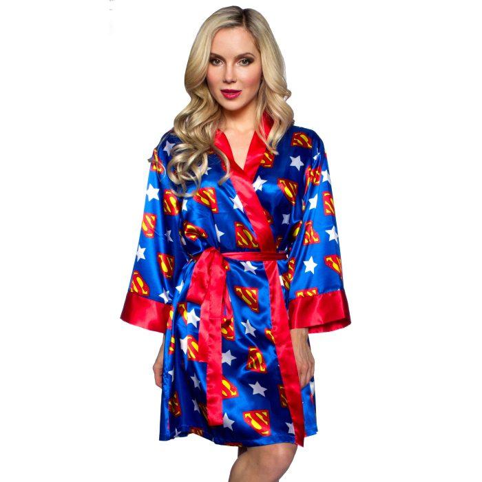 Superman Silk Robe