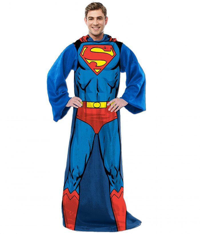 Superman Sleeved Blanket