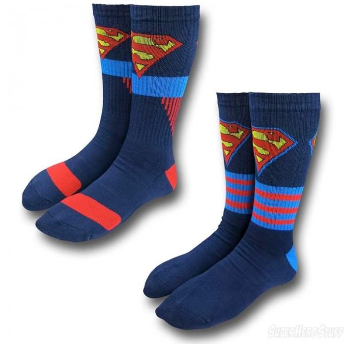 superman-socks-twopair
