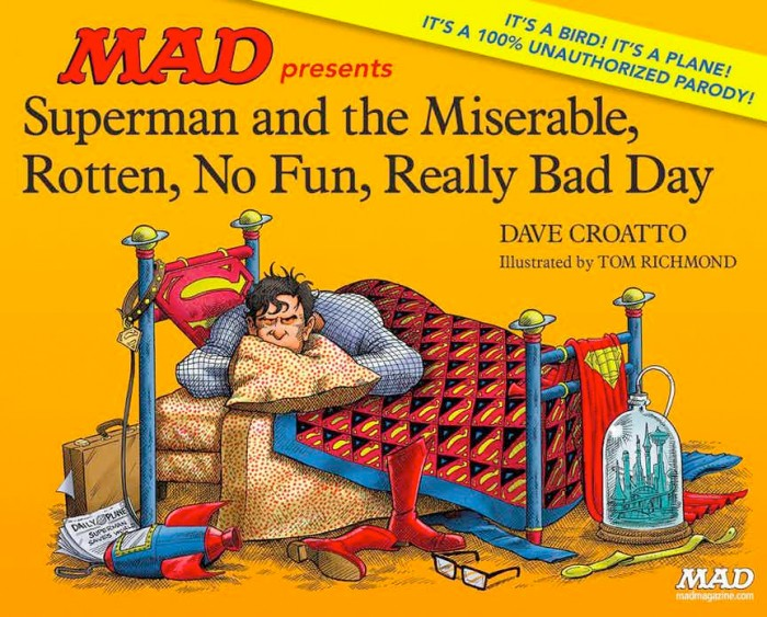 Superman MAD Magazine Book