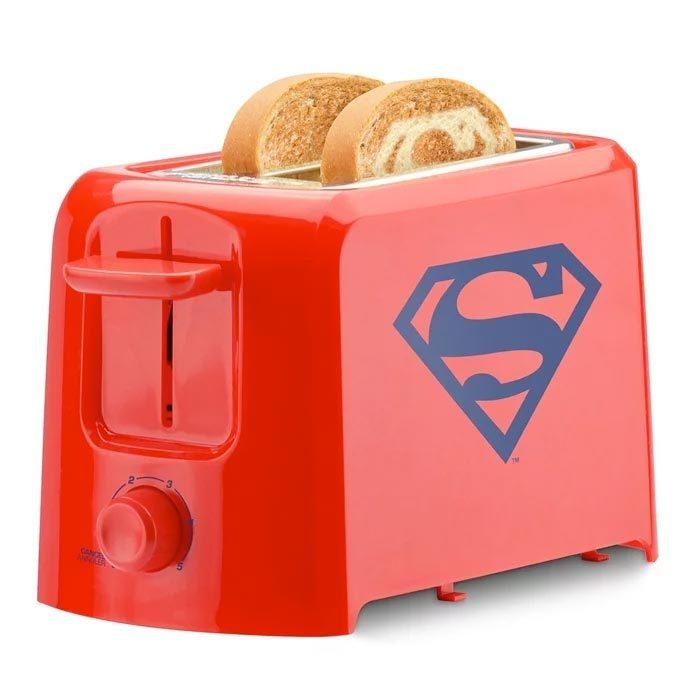 Superman Toaster Logo