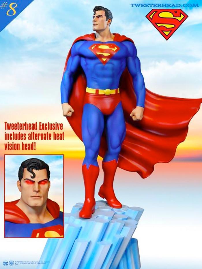 Superman Tweeterhead Statue