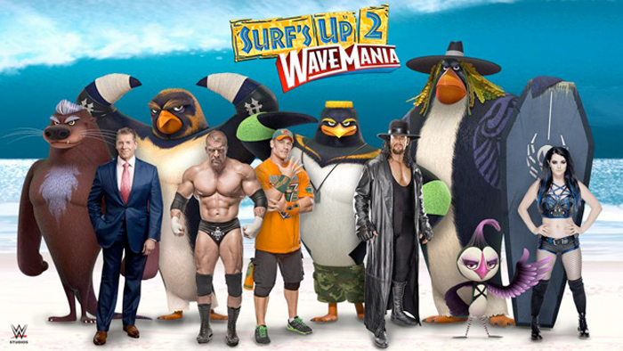 Surfs Up 2 Is Happening But With Pro Wrestlers As Surfers