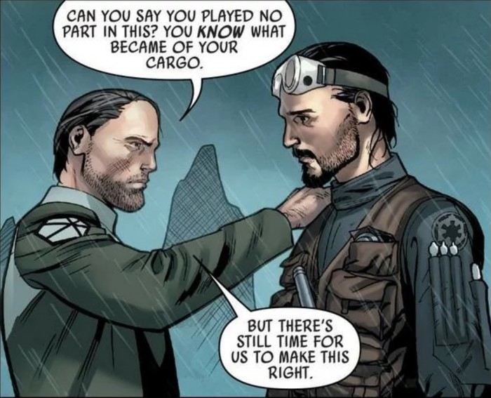 Star Wars Rogue One Comic Issue 1