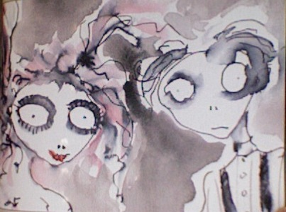 Tim Burton Sweeney Todd Concept Art
