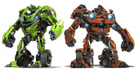Transformers: Revenge of the Fallen - Skidz and Muddflap