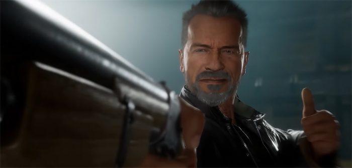 Mortal Kombat 11 Terminator Gameplay Footage
