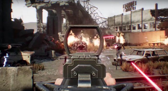 terminator resistance video game trailer