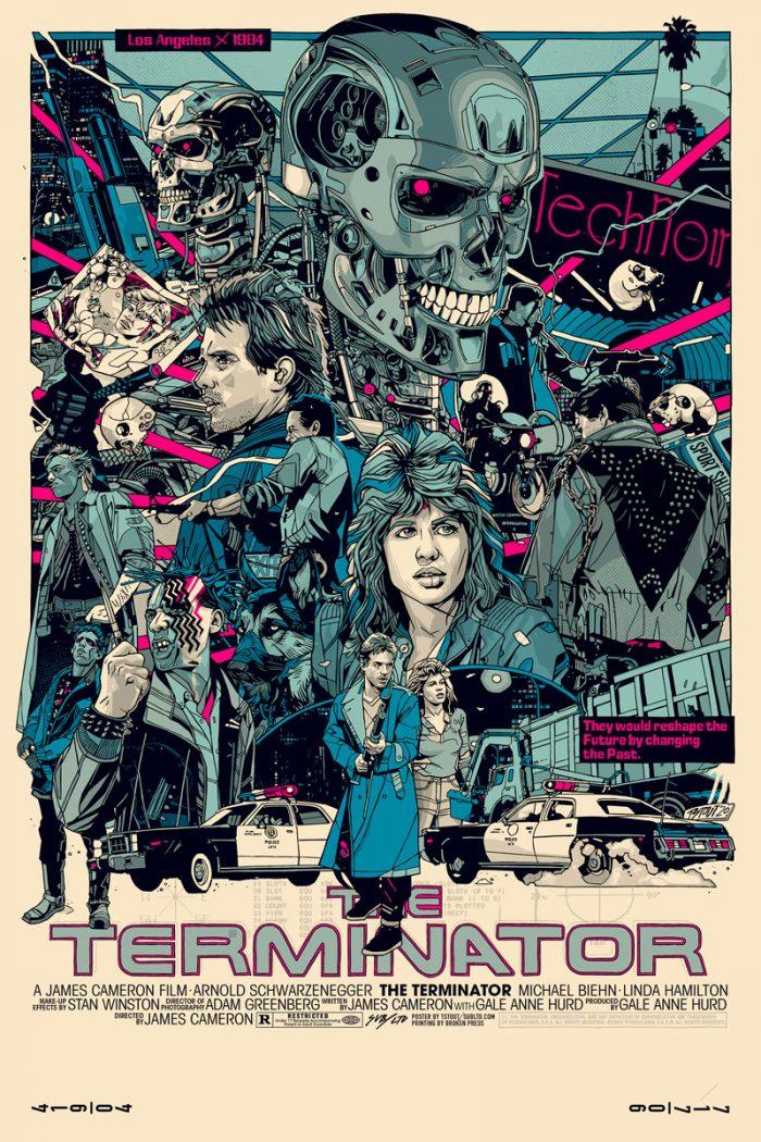 Tyler Stout Terminator Poster
