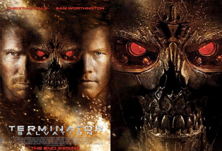 terminator salvation poster faces