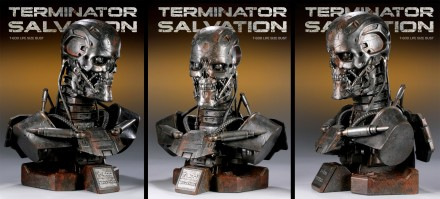T-600 Life-Size Bust